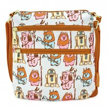 Star Wars by Loungefly Passport Bag Pastel Ewoks AOP