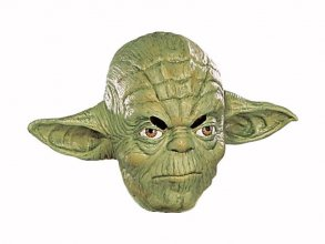 Star Wars 3/4 Vinyl Mask Yoda