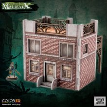 Malifaux ColorED Miniature Gaming Model Kit 32 mm Old Town Build