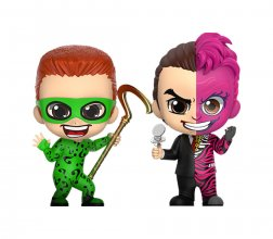 Batman Forever Cosbaby mini figurka 2-Pack The Riddler & Two-Fac