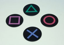 PlayStation podtácky 4-Pack Icons