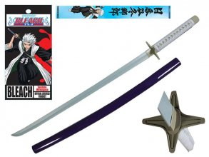 Bleach Pěnový meč with Wooden Handle Toshiro Hitsugaya Hyorinmar
