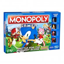 Nintendo desková hra Monopoly Gamer Sonic the Hedgehog Edition *