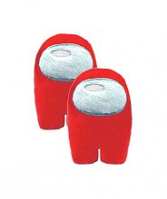 Among Us Plush Figures Crewmates red 28 cm Display (2)