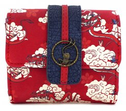 Disney by Loungefly Flap Purse Mulan Mushu Cloud