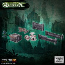 Malifaux ColorED Miniature Gaming Model Kit 32 mm Railway Prop S