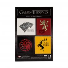 Game of Thrones Magnet 5-Pack House Sigils & Logo Lootcrate Excl
