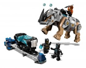 LEGO® Marvel Super Heroes™ Black Panther - Rhino Face-Off by the