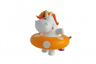 Chubby Unicorn Bath Duck Chubby Unicorn 9 cm