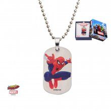 Spider-Man Dog Tag with ball chain Spider-Man