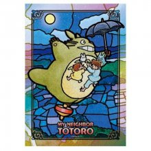 Muj soused Totoro Art Crystal skládací puzzle Moonlight