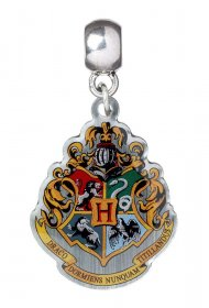 Harry Potter Charm Bradavice Crest (silver plated)