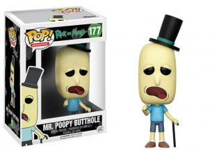 Rick and Morty POP! Animation Vinylová Figurka Mr. Poopy Butthol
