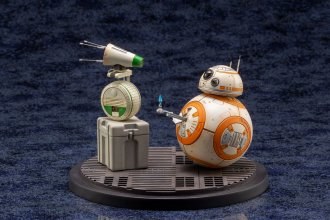 Star Wars Episode IX ARTFX+ Socha 1/7 2-Pack D-O & BB-8 13 cm