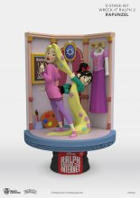 Ralph Breaks the Internet D-Stage PVC Diorama Rapunzel & Vanello