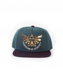 The Legend of Zelda Snapback čepice Green Hyrule