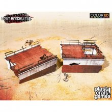 Post Apocalypse ColorED Miniature Gaming Model Kit 28 mm Strande