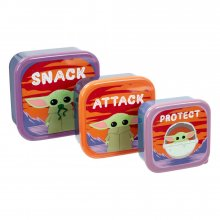 Star Wars The Mandalorian Plastic Storage Set The Child Snack, A
