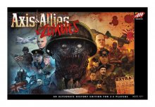 Avalon Hill desková hra Axis & Allies & Zombies english