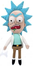 Rick & Morty Galactic Plushies Plyšák Rick Worried 41 cm