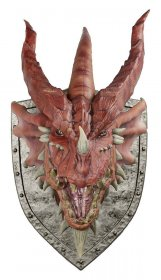 Dungeons & Dragons Trophy Plaque Red Dragon (Foam Rubber/Latex)