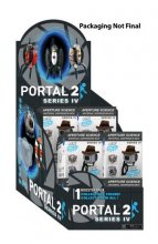 Portal 2 mini figurky Booster Packs Series 4 Display (12)