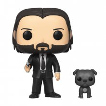 John Wick POP! Movies Vinylová Figurka John Wick in Black Suit w