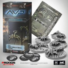 AvP Tabletop Game The Hunt Begins Expansion Pack Facehuggers *Ge