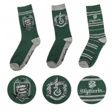 Harry Potter ponožky 3-Pack Slytherin