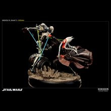 Star Wars dioráma Hunt for the Jedi (Shaak Ti vs. Grievous)