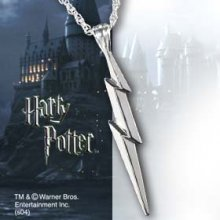 Harry Potter - Lightning Bolt Sterling Silver Pendant