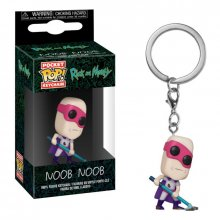 Rick and Morty Pocket POP! vinylový přívěšek na klíče Noob-Noob