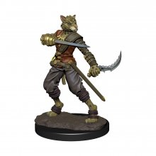 D&D Icons of the Realms Premium Miniature pre-painted Tabaxi Rog