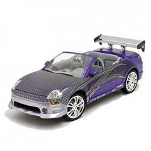 2 Fast 2 Furious Diecast Model 2001 Mitsubishi Eclipse Spyder