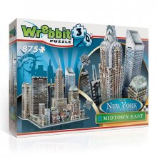 Wrebbit New York Collection 3D Puzzle Midtown East