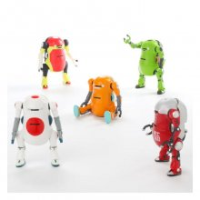 MechatroWeGo Mini Action-Figures 5 cm prodej v sadě (10)