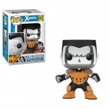 X-Men POP! Marvel Vinylová Figurka X-Force Colossus (Silver Chro