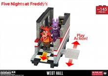 Five Nights at Freddy´s Medium Stavebnice West Hall