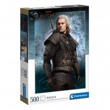 The Witcher skládací puzzle Geralt of Rivia (500 pieces)