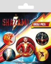 Shazam! sada odznaků 5-Pack Power