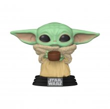 The Mandalorian POP! Star Wars Vinylová Figurka The Child w/ Cup