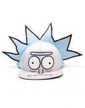 Rick and Morty Embroidery Snapback Cap Ricks Face