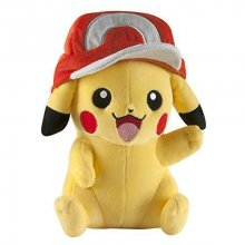 Pokemon Plyšák Pikachu with Ash Cap 26 cm