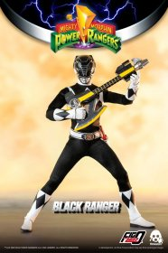 Mighty Morphin Power Rangers FigZero Akční figurka 1/6 Black Ran