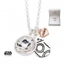 Star Wars Pendant & Necklace BB-8 (silver plated)