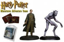 Harry Potter Miniatures 35 mm 2-pack Remus Lupin *English Versio