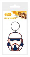 Star Wars Solo Rubber Keychain Trooper 6 cm