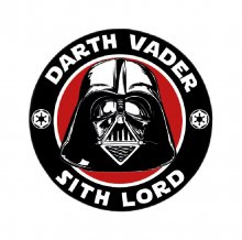 Star Wars Carpet Darth Vader 80 cm