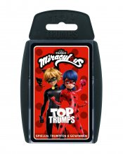 Miraculous: Tales of Ladybug & Cat Noir karetní hra Top Trumps *