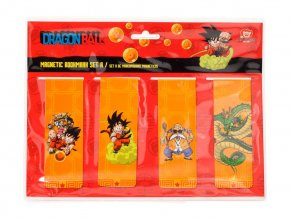 Dragonball Magnetic Bookmark Set A